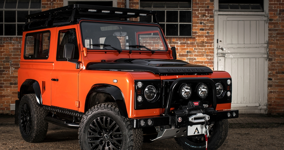 Deze land rover defender 90 summit is de ultieme for Interieur defender 90