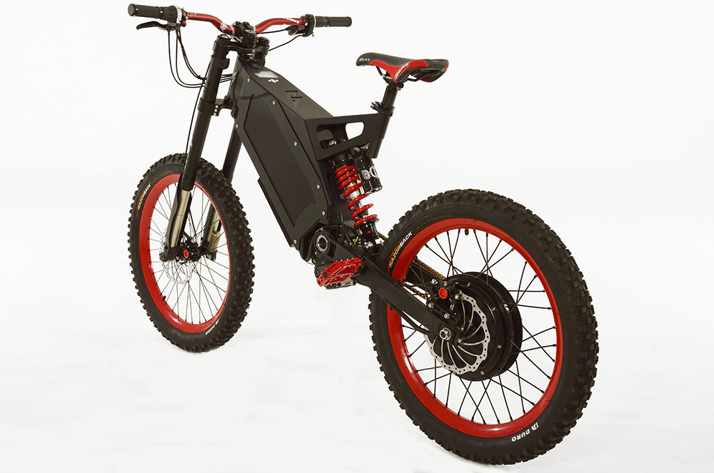 Off Road Crossen Met Deze Brute Stealth Electric Bike