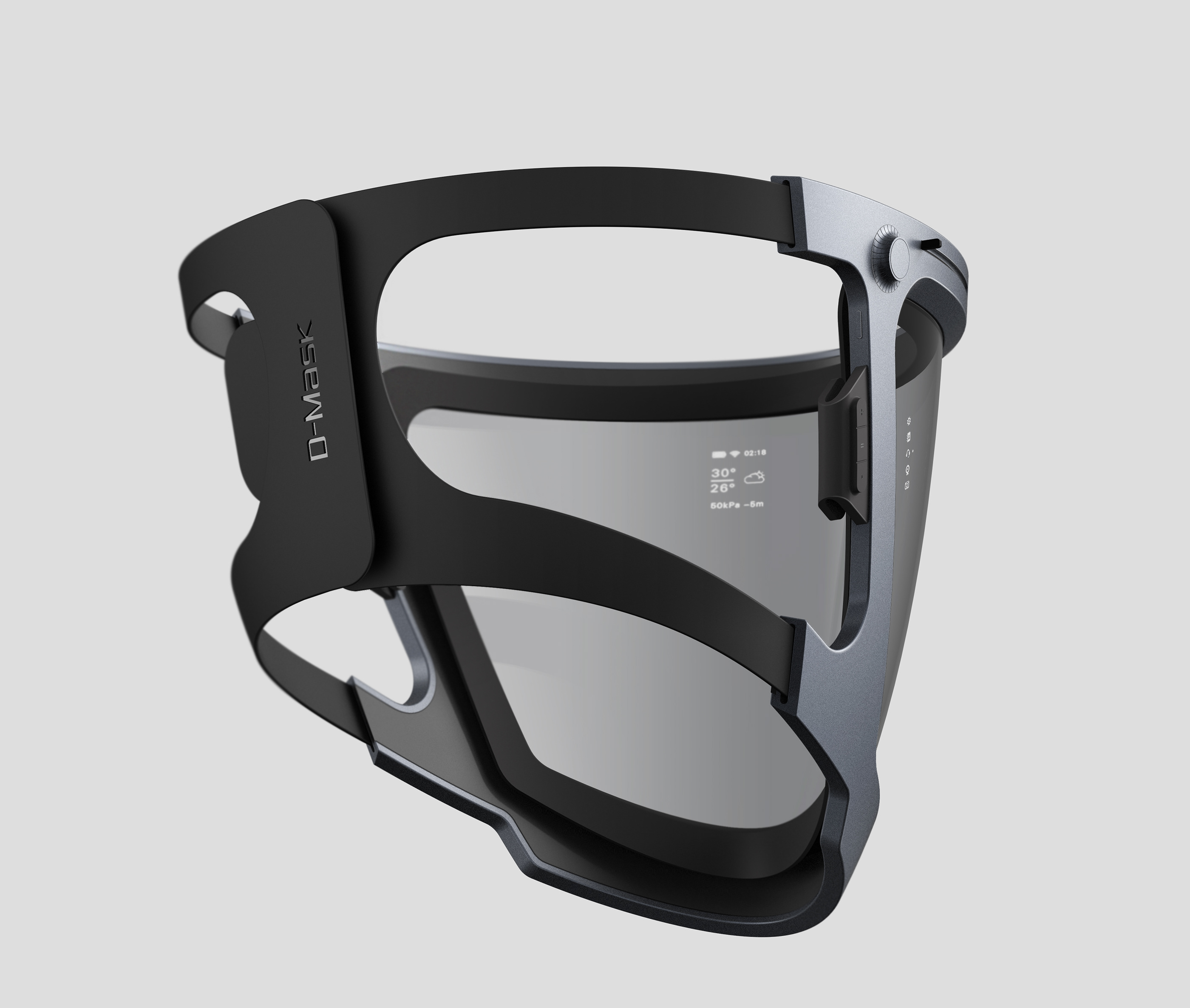 Duikmasker D-Mask Smart ZJ-DDG
