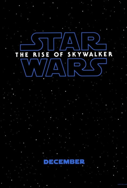 Star Wars The Rise of Skywalker trailer