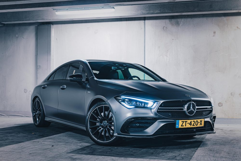 Gewoonvoorhem test: de Mercedes-AMG CLA 35 4MATIC Coupé