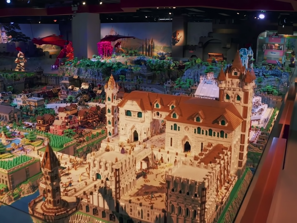 Nieuw LEGO-wereldrecord is compleet in Lord of the Rings-setting