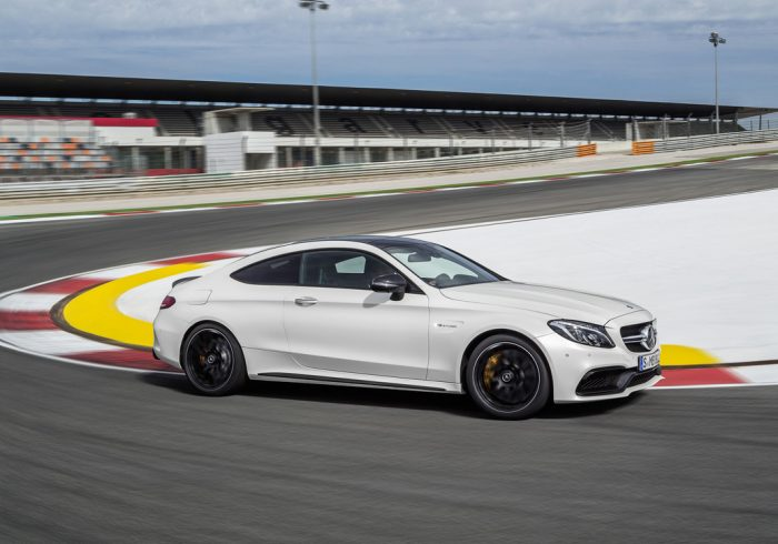 2017 Mercedes C63 AMG Coupé is sexy!
