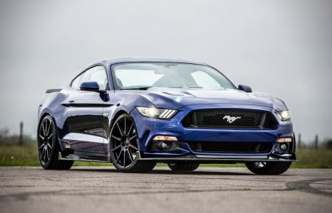 De supercharged Ford Mustang HPE750 door Hennessey