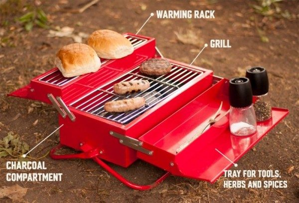 Musthave voor de zomer: draagbare barbecue!