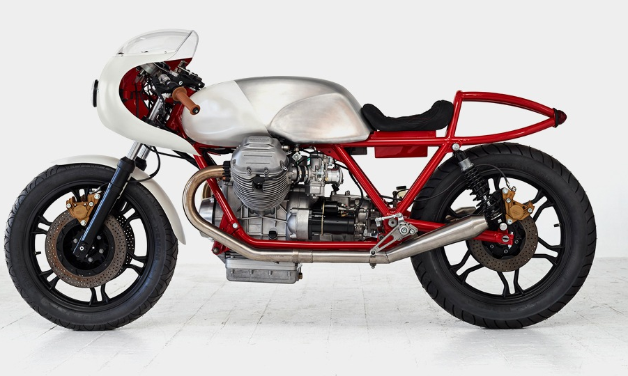 Moto Guzzi Airtail: de meest brute motor van Death Machines of London