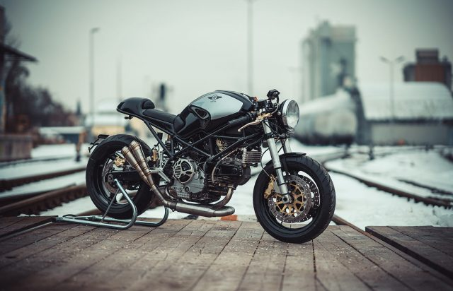 Brute Ducati Monster cafe racer van NCT Motorcycles