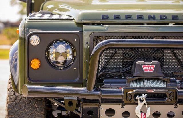 Deze custom Land Rover Defender is machtig mooi