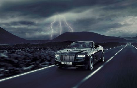 Rolls Royce onthult een duistere cabriolet: Dawn Black Badge