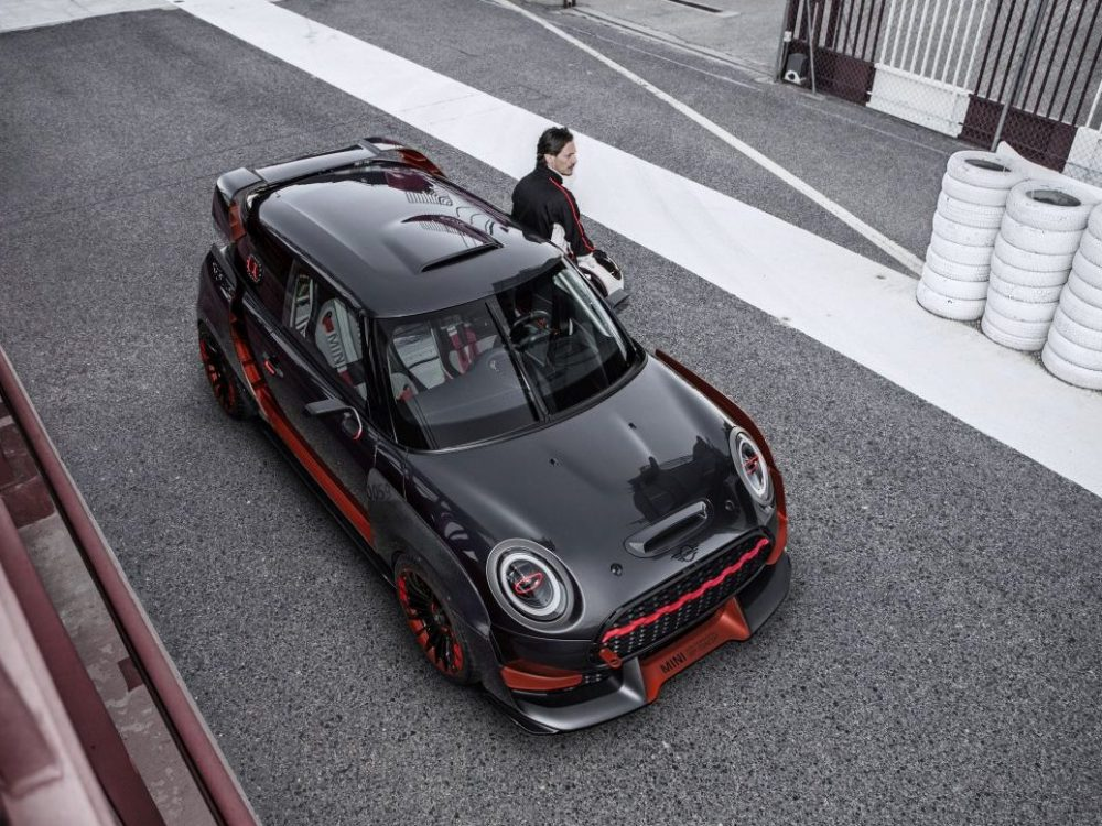 MINI toont monsterlijk concept: de MINI John Cooper Works GP