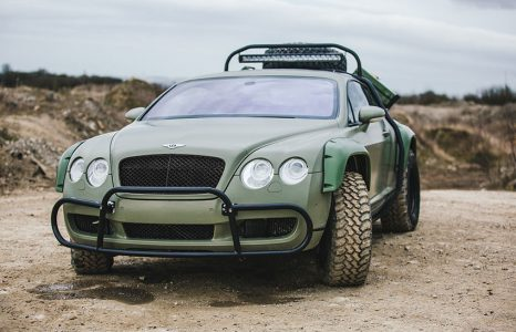Deze Bentley is Dakar rally klaar: Bentley Continental GT Rally Edition