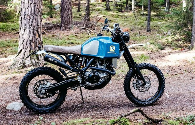 De perfecte off-road bike voor dit najaar: Deus Ex Machina 'Husky'