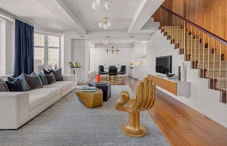 Het NYC penthouse van The Rollings Stones gitarist Keith Richards staat te koop