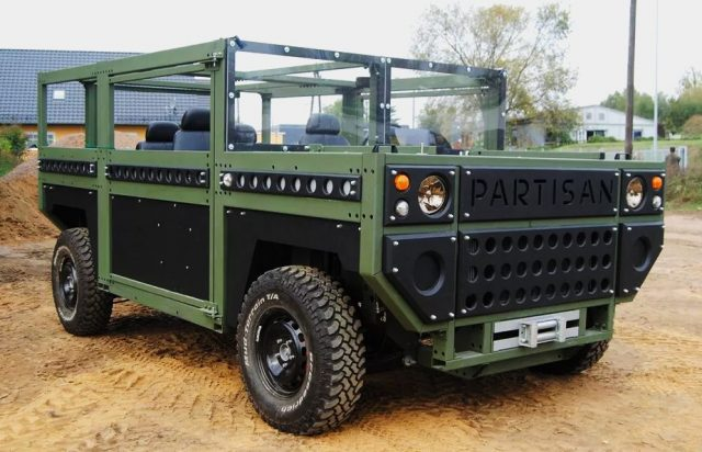Deze Partisan One SUV is volledig bombproof