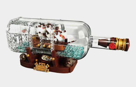 LEGO Ship in a Bottle