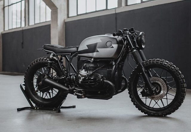 Deze ruige BMW R100/7 'The Hammerhead' is het custom resultaat van Hookie Co.