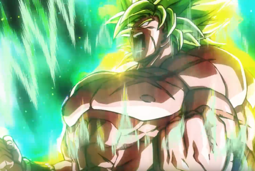 Broly gaat sowieso over Power Level 9000 in derde trailer van 'Dragon Ball Super: Broly'