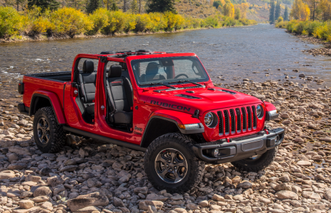 Deze Jeep Gladiator pick-up is grensverleggend