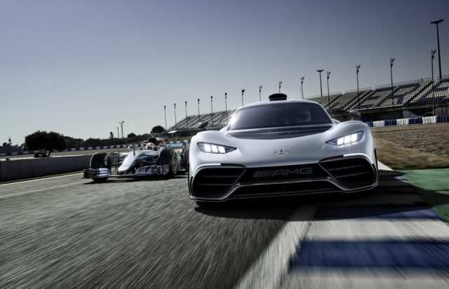 Laat Top Gear je meenemen in de Mercedes-AMG Project One Hypercar