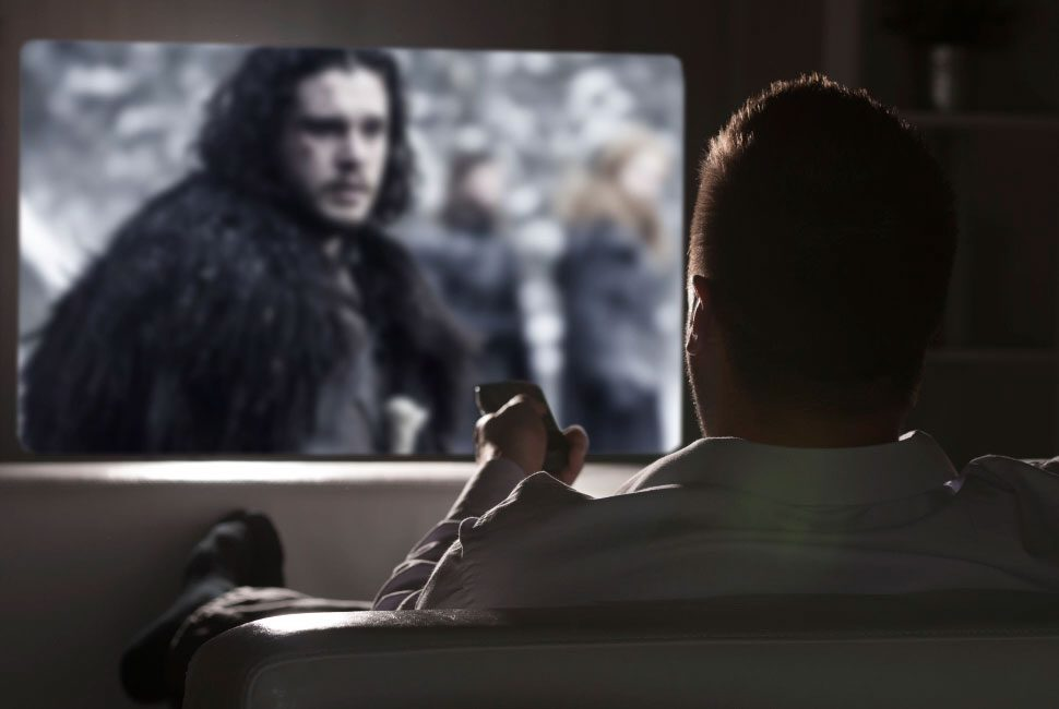 NOW TV biedt jou 40.000 per jaar om series als Game of Thrones te bingewatchen
