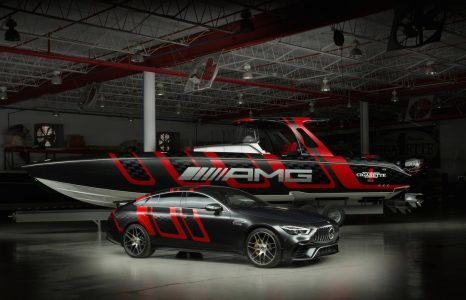 Dit is de monsterlijke Carbon Speedboat van Mercedes AMG en Cigarette Racing
