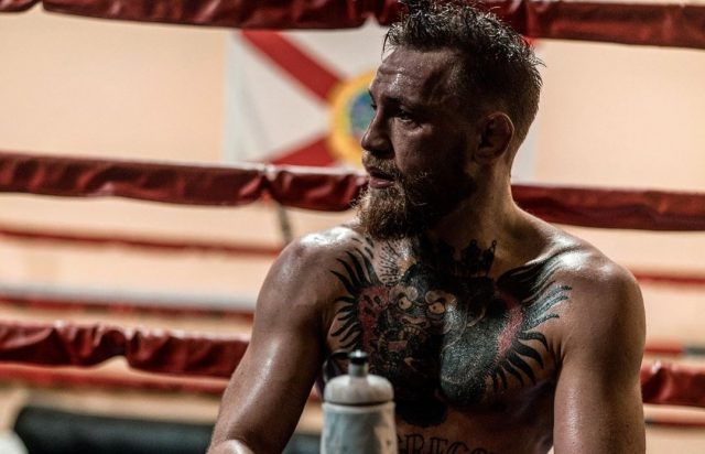 Conor McGregor gooit de handdoek in de ring