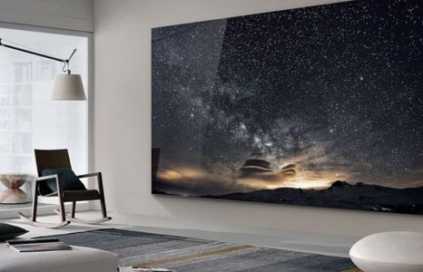 The Wall is een extreme Samsung tv van 219 inch
