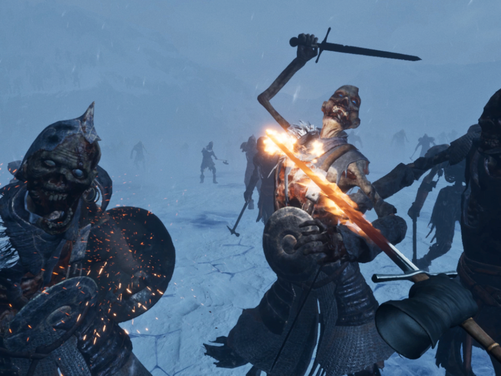 VR Gaming heeft er een avontuur bij met Game of Thrones: Beyond the Wall