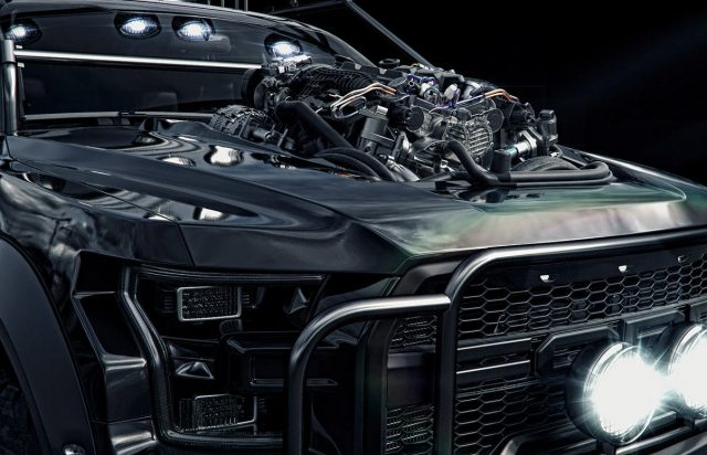 Deze zwarte Ford F-150 Raptor is de perfecte off-roader voor Batman